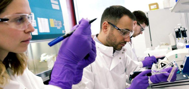 Ingenza lab work
